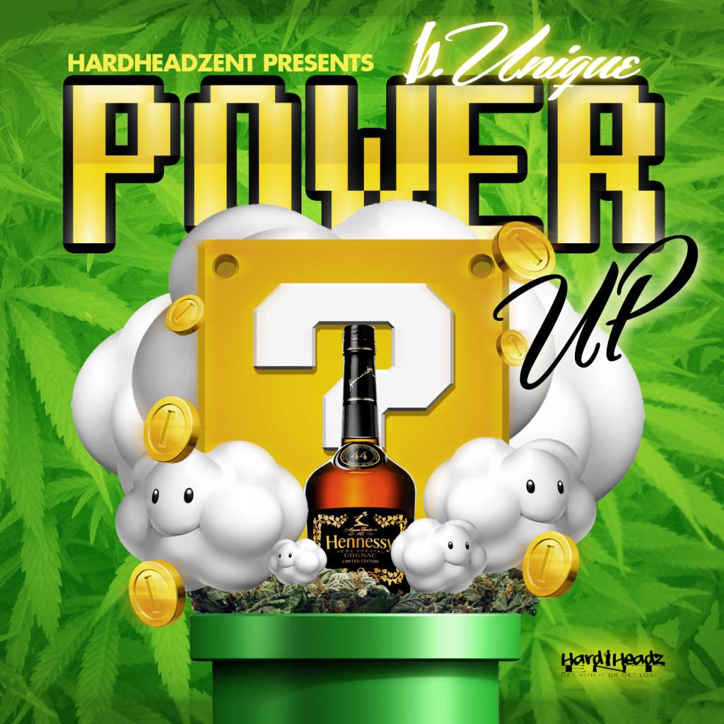 """[Single] b.Unique """"Power Up"""""""