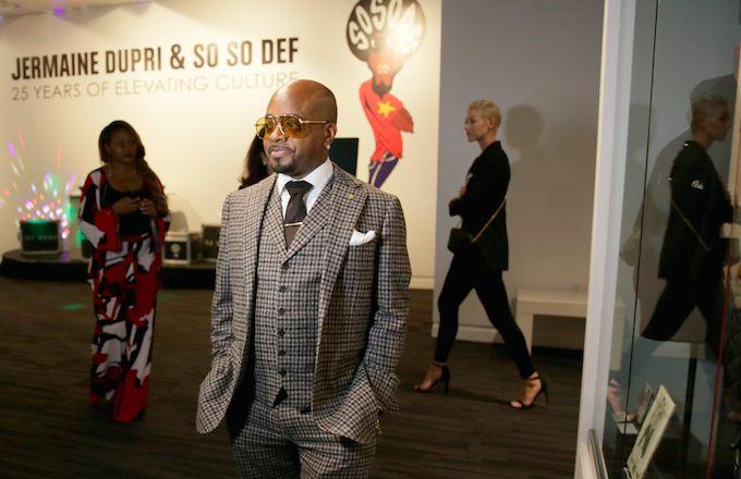 Jermaine Dupri Kicks Off So So Def Exhibit at the Grammy Museum