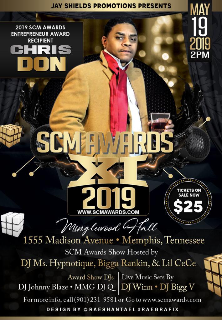 Event] #SCMAwards May 19th - Memphis, TN - Hustle & Grynd