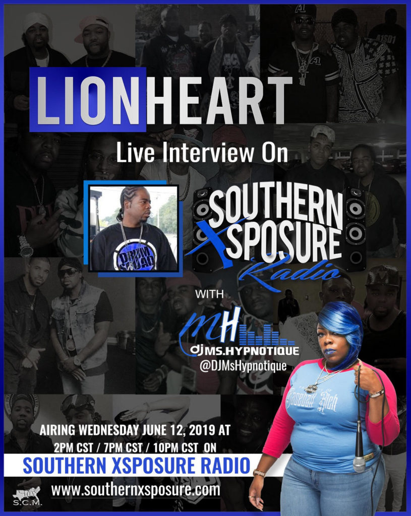 @djmshhypnotique Interview w/ Lionhheart