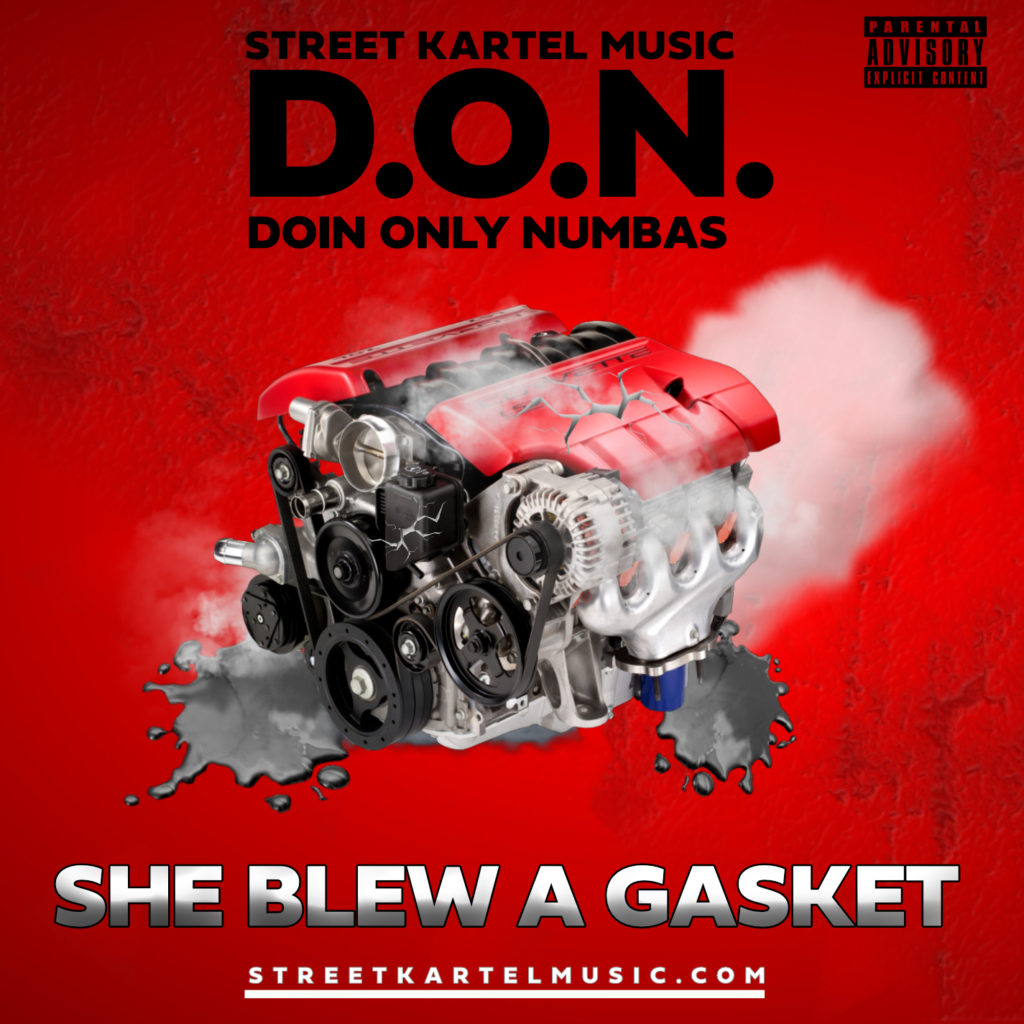 [Single] @DOINONLYNUMBAS 'She Blew A Gasket'